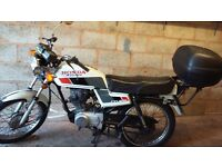 Honda CG125 ideal commutor learner cbt