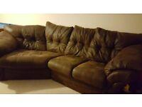 3 seater florida corner snuggle sofa