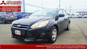 2012 Ford Focus S - only $102 biweekly!