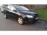 2007 black Ford Focus automatic 1.6 MOT till November