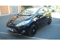 Ford Fiesta 1.4 tdci 5 Door 2012 Black.