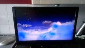 Flatscreen tv and dvd combi