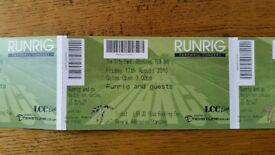 Runrig concert tickets