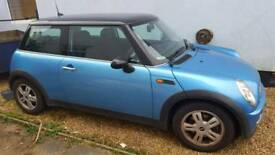 Well kept Sky blue MINI COOPER for sale. Looks brand new!