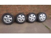 New Ford Transit Alloys 16inch with new tyres
