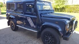 Landrover defender td5 csw 12 seater
