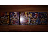 Power Rangers DVD's – Jungle Fury