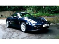 Porsche Cayman (07 Reg) 2.7l - Midnight Blue