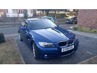 BMW 3 SERIES 2.0 318d 4dr, blue.
