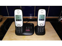 Twin Handset Cordless Answerphone