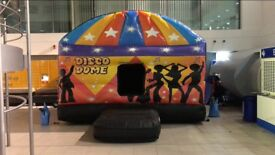 Great Condition Bouncy Castle Disco Dome + Accessories (15ft x 18ft)