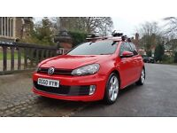 2010 VW VOLKSWAGEN GOLF GTI 2.0 TSI BRAND NEW ENGINE FITTED FULL SERVICE HISTORY FULL LEATHER DAB