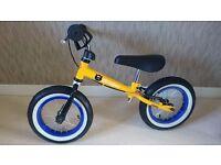 Childrens Balance Bike - As New