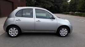 Nissan micra automatic, low mileage (34400 mile), excellent condition