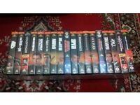 JAMES BOND VIDIO × 18 ON VHS