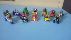 Teenage mutant ninja turtles mini cars