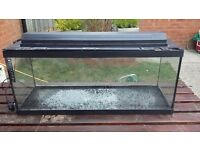 tropical fish tank, 100L for sale