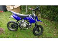 110cc crf50 size semi auto pit bike dirt Motocross off road good to go £275ono