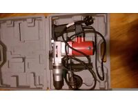 1 clarke sds drill in case still like new see photo good working order