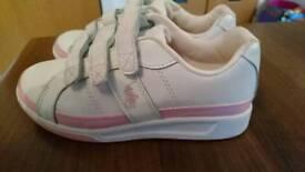 Girls Ralph Lauren shoes UK 1