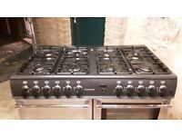 belling dual electric gas 8 burner very good condition