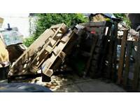 Free pallets - collection from Fareham