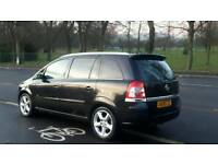 2008 vauxhall Zafira 1.9 cdti sport family 7-seater..sat navigation..Bluetooth mp3 tidy car