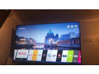 LG 65 inch UHD 4K 3D television