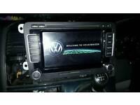 Vw RNS 510 radio upgrade, sat nav, Bluetooth compatible, non dab