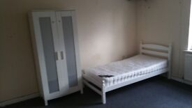 Bedsit for sleeping ..to let from £55 a week on top of shop
