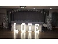 Light up wedding arch,Candy Cart, Love sign letters