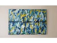 Gay Pride ORIGINAL Oil Canvas LGBT Abstract Modern painting Contemporary Art