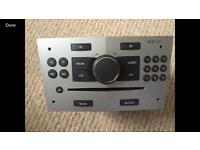 Original Vauxhall cd 30 radio with code