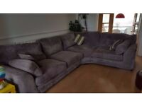 House of Fraser Linea Corner Sofa and Twister Chair