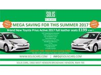 £199 Brand New Toyota Prius Active 2017 PCO**CAR**HIRE***PCO**CAR**RENTALS****UBER**READY**
