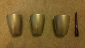 FREE set of 3 vases/pots