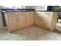 Howdens Shaker style kitchen cabinet doors and drawers