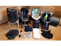 Quinny Buzz 3 Pushchair Pram Stroller Travel System & Maxi Cosi Car Seat + Accessories