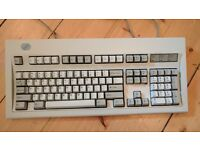 "IBM Model M Keyboard, ""Clicky"" Vintage, Perfect Condition, Includes PS2 - USB Converter. Ready to go"