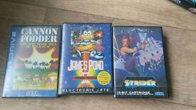 X3 Sega Megadrive Games
