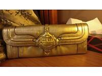 Genuine juicy couture gold purse wallet