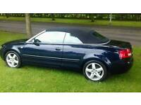 Audi a4 convertible 2.5 tdi px poss tip spec