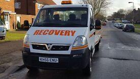 Recovery Vauxhall Movano