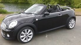 MINI ROADSTER 1.6 COOPER - BLACK- 2dr Convertible