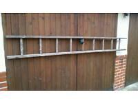 Ladder wooden ladder