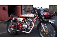 Skyteam ace caffe racer 125cc honda dream classic motorcycle