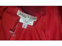 Jones & jones red dress