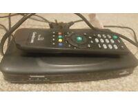 Goodmans FreeSat SD set top box with remote