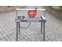 Tile cutter with very new blade, good condition