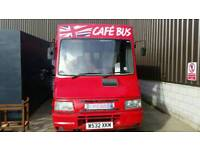 Cafe Bus Food Truck for Sale